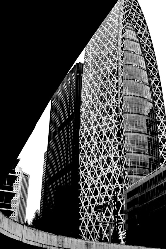 Cocoon-like building