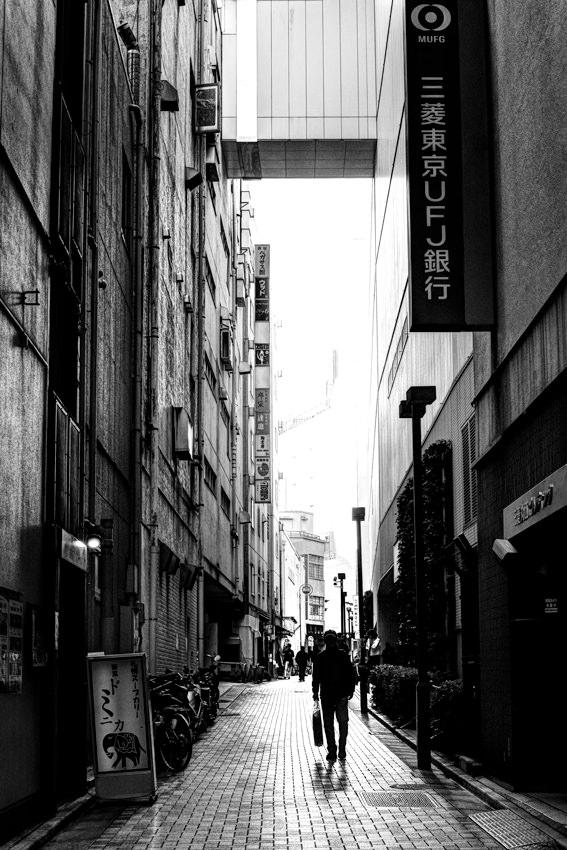 Alleyway in Shinjuku