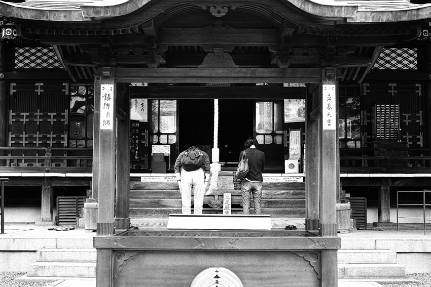 Main hall of Toyokawa-Inari