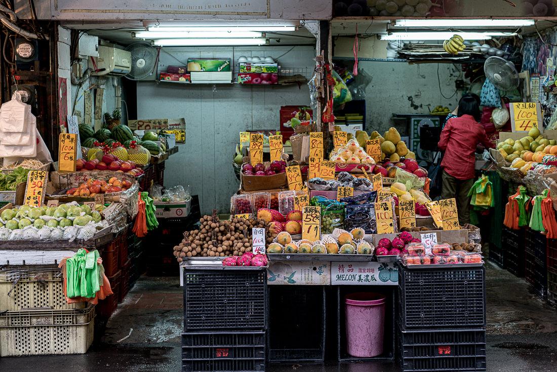 facade of fruit store
