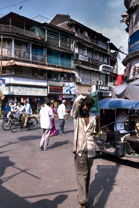 Man With Shaggy Hair (India)