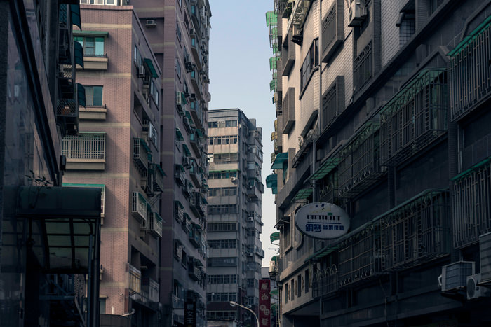 Apartments Were Clustered (Taiwan)