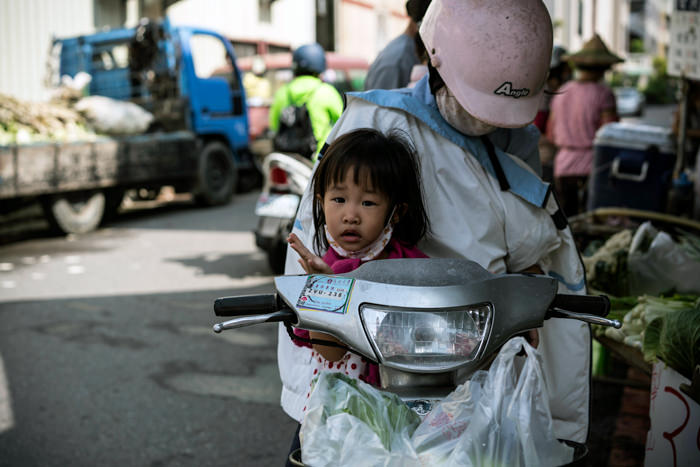 Little Girl On A Scooter (Taiwan)