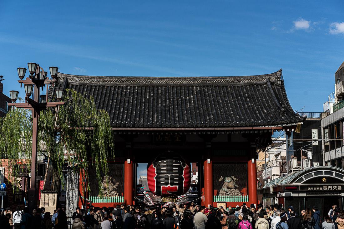 浅草寺の風雷神門