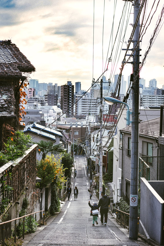 文京区と豊島区の間にある富士見坂