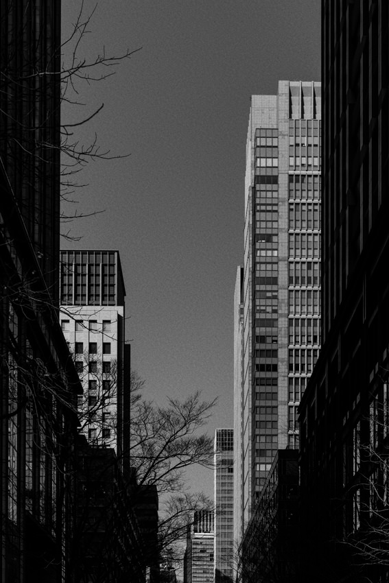Office buildings standing side by side