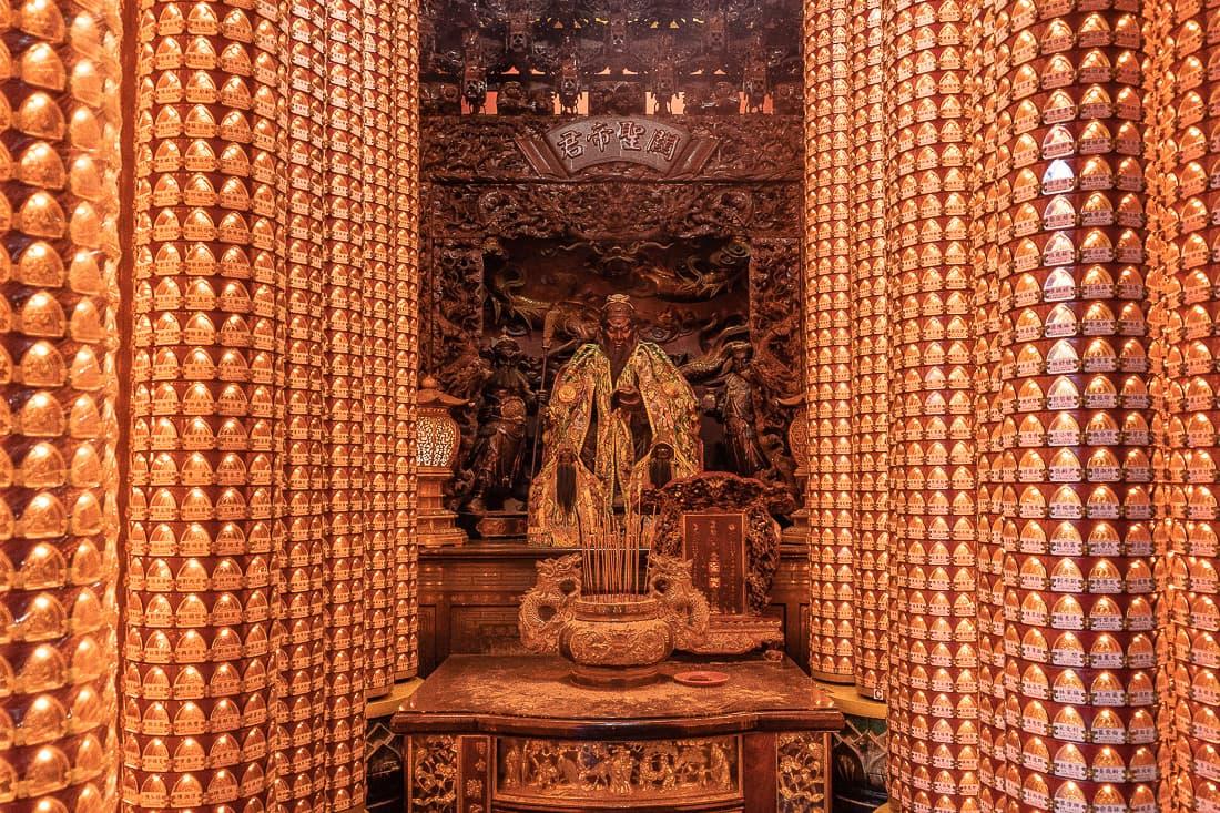 文昌宮の祭壇