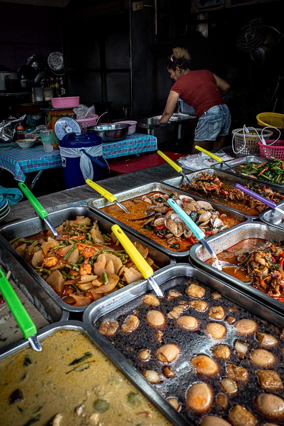 Delicatessen in Khlong Toei Market