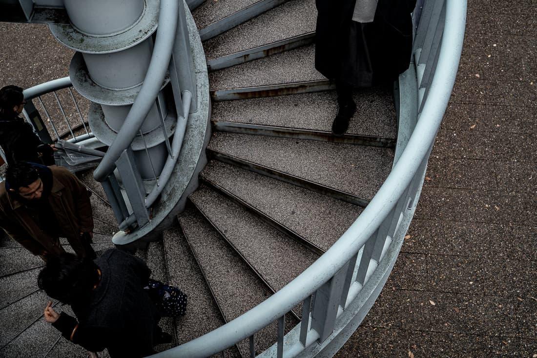 Spiral stairway in Daikanyama