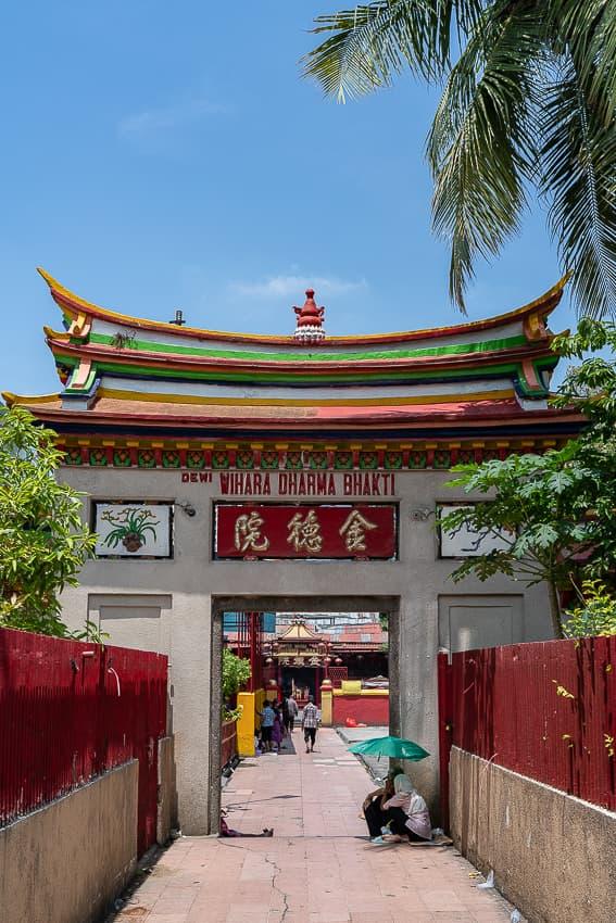 金徳院の門