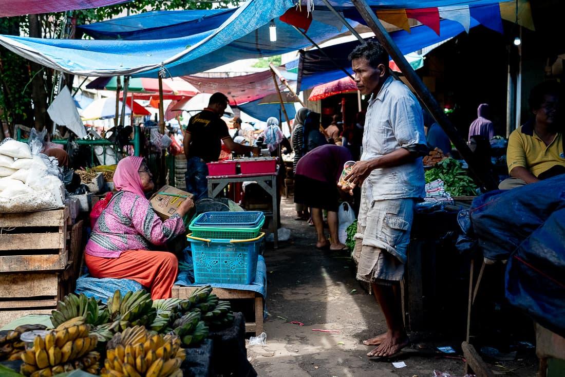 Kanoman market in Cirebon