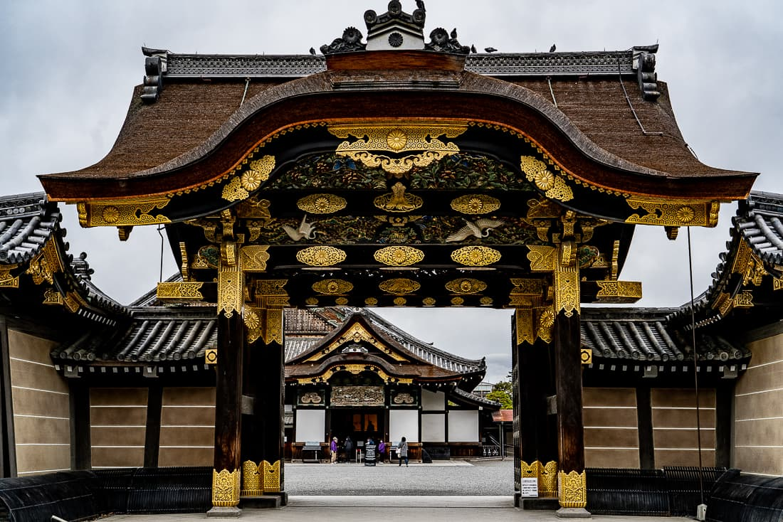 Karamon Gate of Nijo Castle