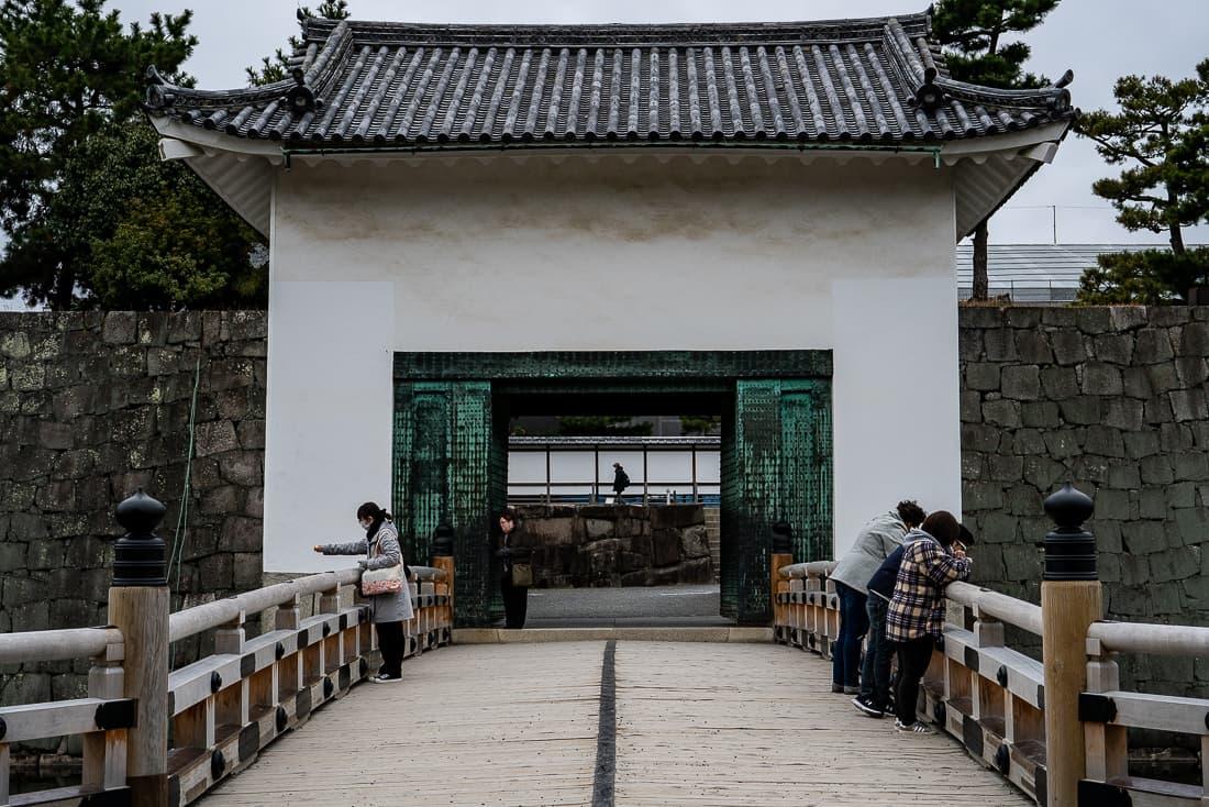 Turret Gate of Nijo Castle