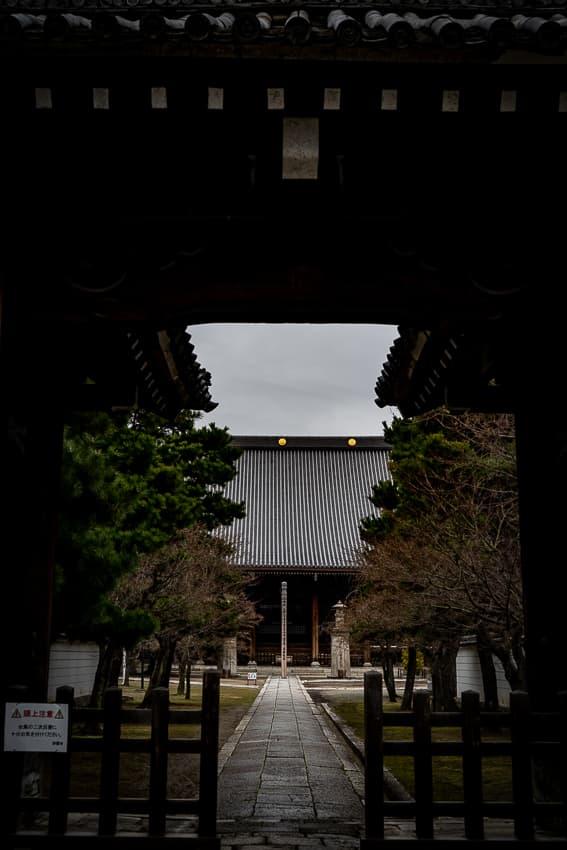 妙顕寺の大本堂