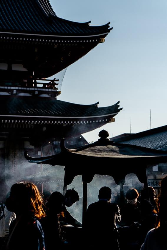 浅草寺の常香炉