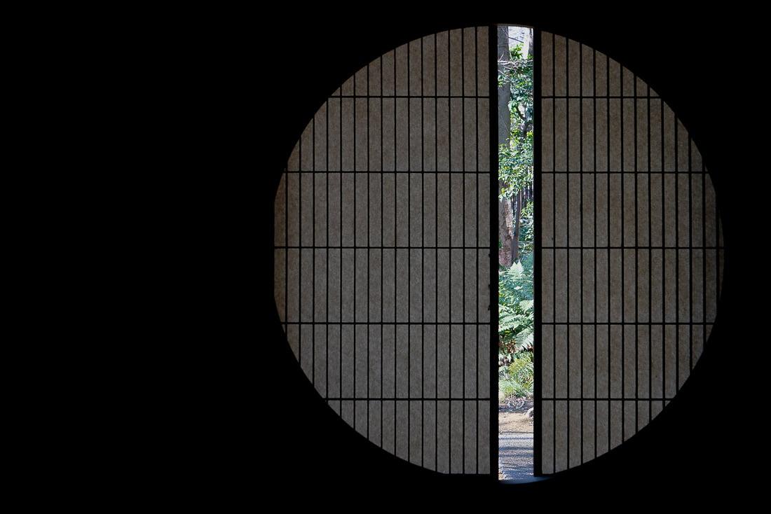 Round window of the Former Asakura House