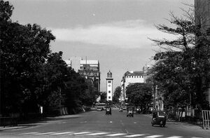 Clock tower in Colombo