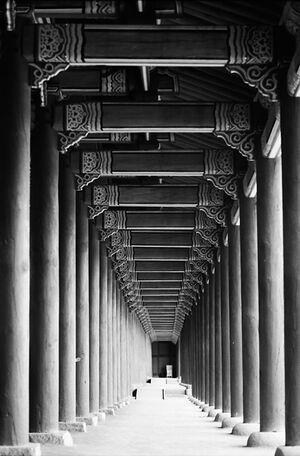 景福宮の回廊