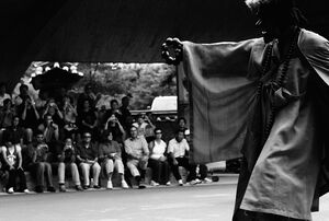 Traditional dance in Hahoe Folk Village