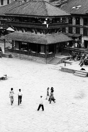 Taumadhi Square in Bhaktapur