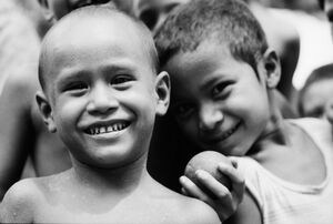 Innocent smiles
