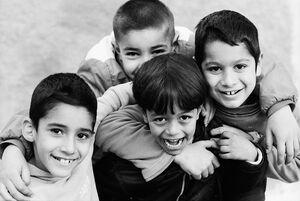 フェズ・エル・ジェディドの男の子たち