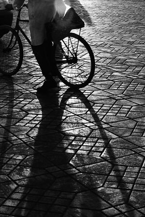 Bicyle running away