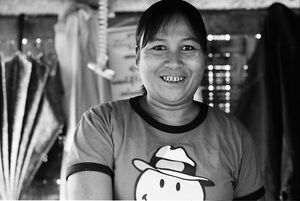 Ample figured woman