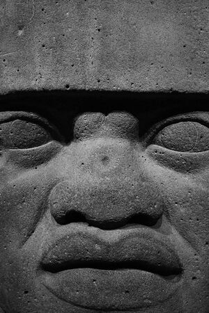 Olmec colossal heads