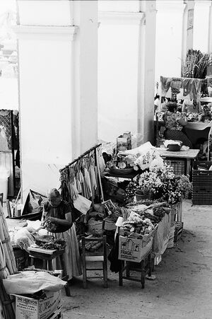 Market in Tehuantepec