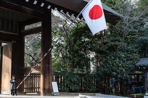 靖国神社の日の丸
