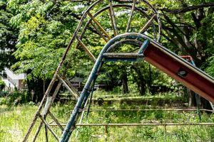 Abandoned chute