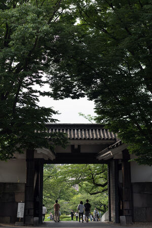 Kitahanebashi Gate in Imperial Palace