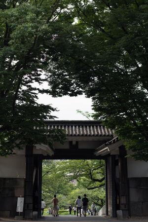 皇居の北桔橋門