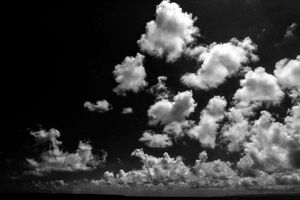 Clouds in Kanonzaki cape