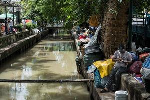 バンコクの運河