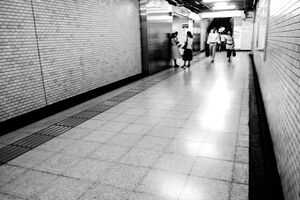 passage in Jimbocho station