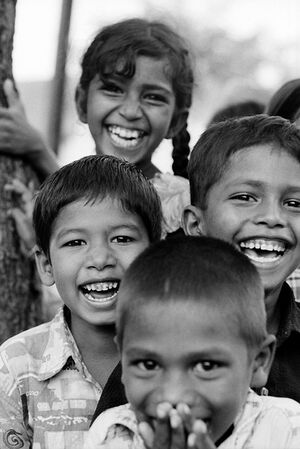 Smile of kids