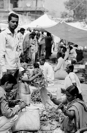 Street market in Daulatabad