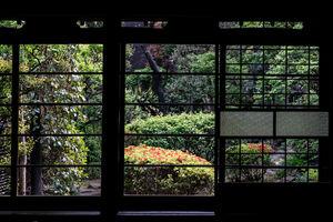 宮野古民家自然園の庭園
