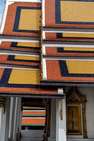 Vivid roof in Wat Phra Kaew