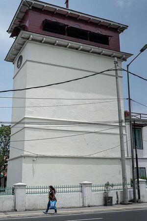 Watchtower built in old Batavia