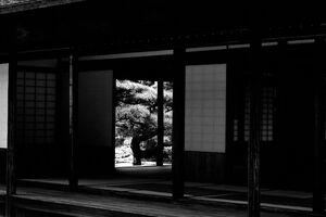 栗林公園に建っていた日本家屋
