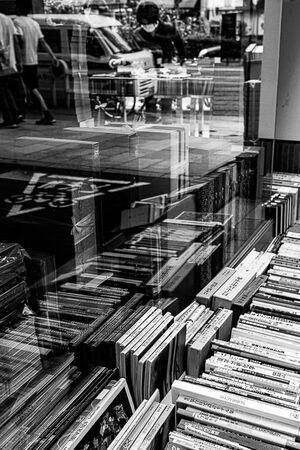 Used bookstore in Jimbocho