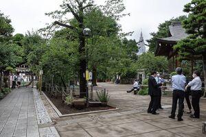 Precincts of Hatomori Hachiman Jinja