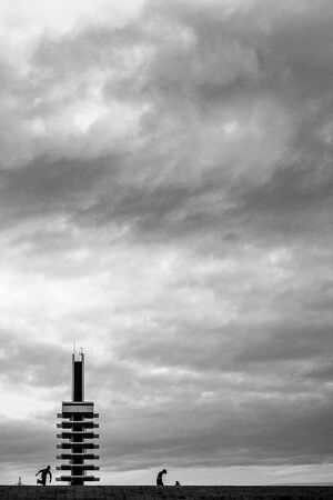 Olympic Monument in Komazawa Olympic Park