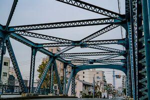 亀久橋とスカイツリー