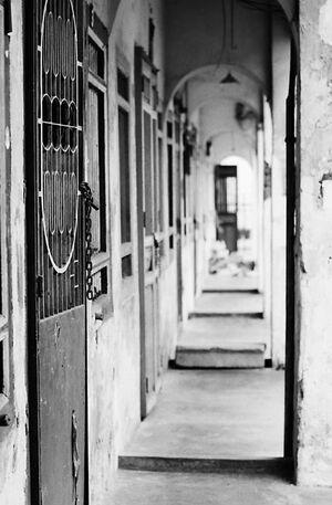 Deserted passageway