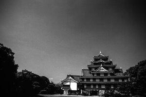岡山城の天守閣