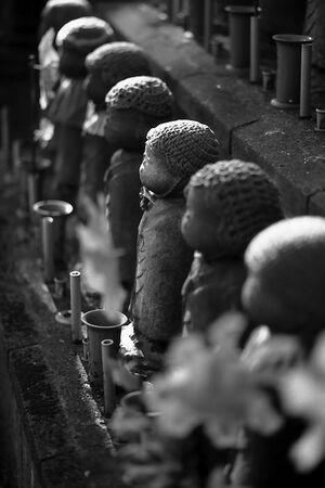 statues of jizo